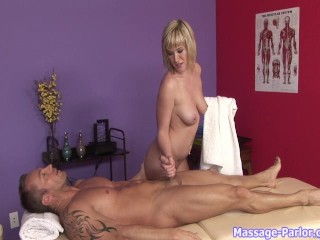 Cute Masseuse Gives Extra Service – Pt 1/3